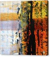 Golden Marks 4 Acrylic Print