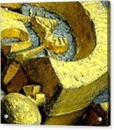Golden Musselburgh IIi Acrylic Print