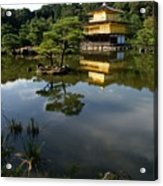 Golden Pavilion In Kyoto Acrylic Print