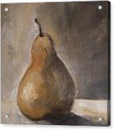 Golden Pear Acrylic Print