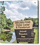 Golden Pond Visitor Center And Planetarium Acrylic Print