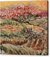 Golden Provence Acrylic Print