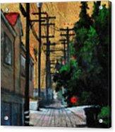 Golden Skies No. 3 Acrylic Print