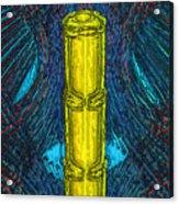 Golden Staff Acrylic Print