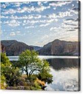 Golden Sunrise - Canyon Lake Acrylic Print