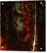 Golden Texture Acrylic Print