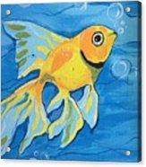 Goldfish Whisper Acrylic Print