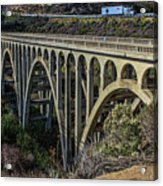 Goleta Hwy 101 Bridge Acrylic Print