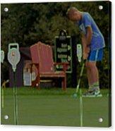 Golf Art 3 Acrylic Print
