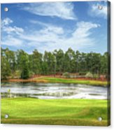 Golf At Pinehurst  Acrylic Print