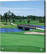 Golf Course Gold Coast Queensland Acrylic Print