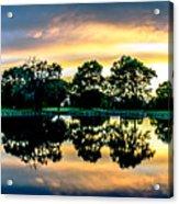 Golf Course Panorama Acrylic Print