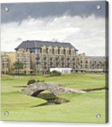 Golf Hotel, St Andrews Acrylic Print