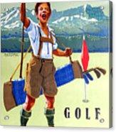 Golf In Deutchland Acrylic Print