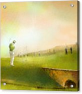 Golf In Scotland Saint Andrews 02 Acrylic Print
