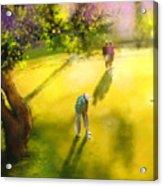 Golf In Spain Castello Masters  01 Acrylic Print