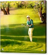 Golf In Spain Castello Masters  02 Acrylic Print
