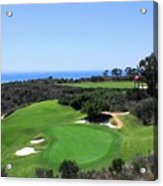 Golf Is Rough At Pelican Hill Resort Acrylic Print