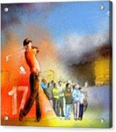 Golf Madrid Masters 01 Acrylic Print