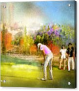Golf Madrid Masters  02 Acrylic Print
