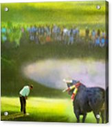 Golf Madrid Masters 03 Acrylic Print