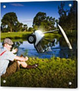Golf Problem Acrylic Print