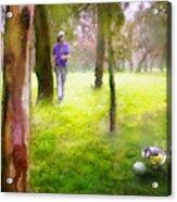 Golf Trophee Hassan II In Royal Golf Dar Es Salam Morocco 02 Acrylic Print