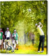 Golf Trophee Hassan II In Royal Golf Dar Es Salam Morocco 03 Acrylic Print