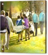 Golf Vivendi Trophy In France 04 Acrylic Print