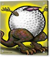 Golf Zilla Acrylic Print