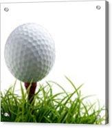 Golfball Acrylic Print by Kati Molin