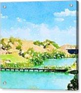 Golfers Delight Acrylic Print