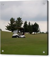 Golfing Golf Cart 02 Acrylic Print
