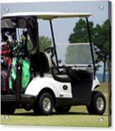 Golfing Golf Cart 05 Acrylic Print