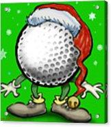 Golfmas Acrylic Print