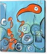 Golfo Eggd Acrylic Print