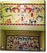 Gond Tribal Art Acrylic Print