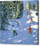 Gondola Austrian Alps Acrylic Print