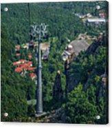 Gondola Hexentanzplatz Acrylic Print