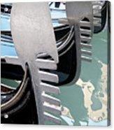 Gondola In Line Acrylic Print