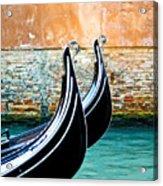Gondola In Venice 1 Acrylic Print