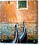 Gondola In Venice 2 Acrylic Print