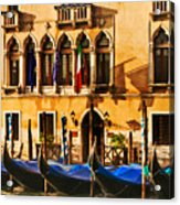 Gondola Parking Only Acrylic Print