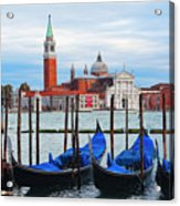 Gondola Station  On Grand Canal Acrylic Print