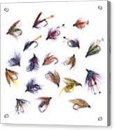Gone Fishing Acrylic Print by Meirion Matthias