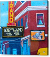 Gone With The Wind At The Strand Acrylic Print