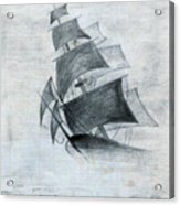 Gone With The Wind Acrylic Print by Farah Faizal