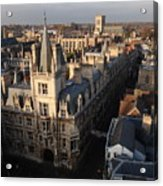Gonville And Caius College Acrylic Print