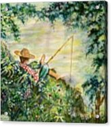 Good Fishing Acrylic Print