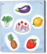 Good Food Acrylic Print